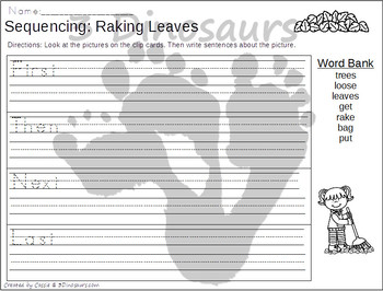 Sequencing: Raking Leaves