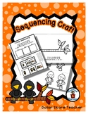 Sequencing Reader Mat & Craft Page - Black Birds on a Branch