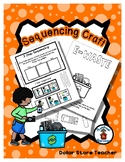 Sequencing Reader Mat & Craft Page - Recycle Electronics - Earth Day