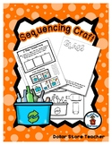 Sequencing Reader Mat & Craft Page - Recycle Glass - Earth Day