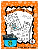 Sequencing Reader Mat & Craft Page - Recycle Metal - Earth Day