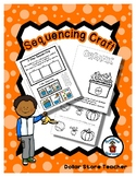 Sequencing Reader Mat & Craft Page - Recycle Organics - Earth Day