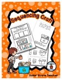 Sequencing Reader Mat & Craft Page - Recycle Paper - Earth Day
