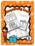 Sequencing Reader Mat & Craft Page - Recycle Plastic - Earth Day