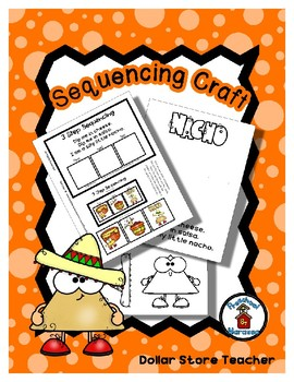 Sequencing Reader Mat & Craft Page - Silly Little Nacho
