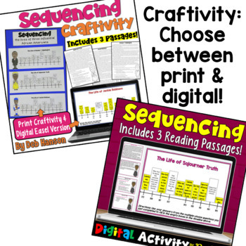 Sequencing Reading Comprehension Bundle