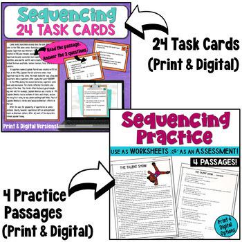 Sequencing Reading Comprehension Bundle
