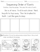 Sequencing - Reading Comprehension Skill to Practice Order of Events