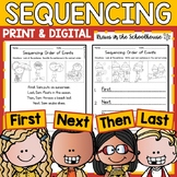 Sequencing - Reading Comprehension Skill to Practice Order