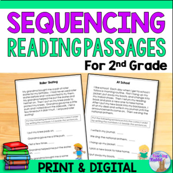 Sequencing Passages for First & Second Grade
