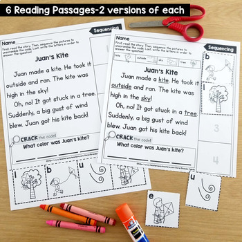 Sequencing Reading Passages & Printables