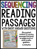 Sequencing Reading Passages with Short Answer Questions