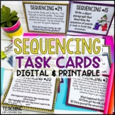 Sequencing Task Cards | Distance Learning | Google Classroom