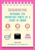 Sequencing Reading Strategy Poster