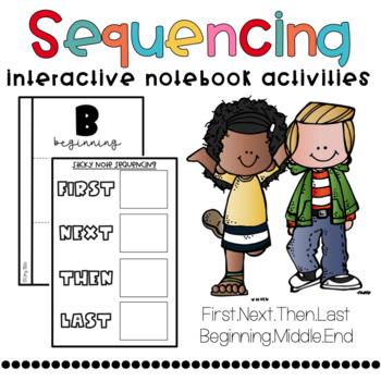 Sequencing/Retelling (BME) Interactive Notebook Activities