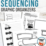 Story Sequencing Graphic Organizers, Sequence of Events Worksheets for Any Book
