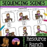 Sequencing Scenes Printables Level Two