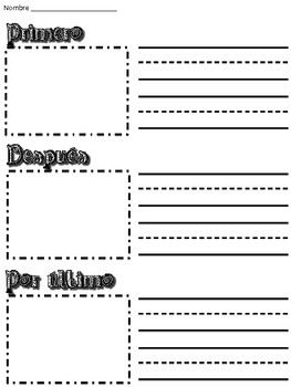Sequencing/ Secuencia Worksheet