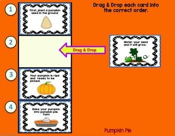 Google Classroom Writing Sentences & Sequencing