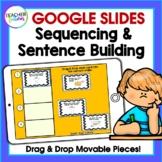 Google Classroom Activities Writing Sentences & Sequencing