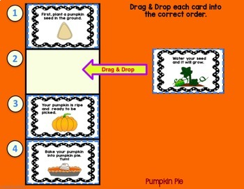 Google Classroom Activities | WRITING SENTENCES | SEQUENCING