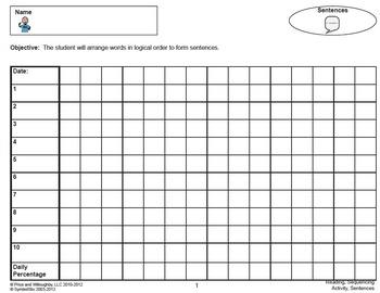 Sequencing Sentences