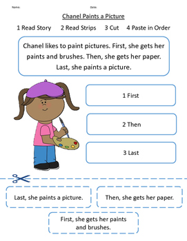 Sequencing Sentences using a Short Story