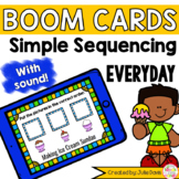 Sequencing Simple Everyday Story Pictures Activity Boom Ca