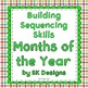 Sequencing Skills Bundle: Alphabet, Numbers, Days, Months, Numerals Printables