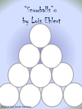 "Sequencing ""Snowballs"" by Lois Ehlert"