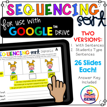 Sequencing Sort Google Drive Edition