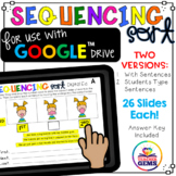 Sequencing Sort Google Drive™ Edition LIMITED TIME DISCOUNT!