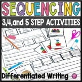 Sequencing Sort and Write Activities with Picture Retelling Cards