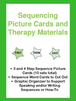 Sequencing Speech Therapy Materials