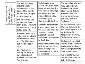 """Sequencing """"Stellaluna"""""""