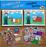 Sequencing Stories: Adapted Books For Practicing Basic Seq
