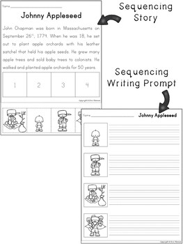 Sequencing Stories ~ American History