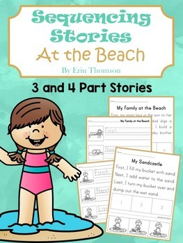 Sequencing Stories ~ At the Beach