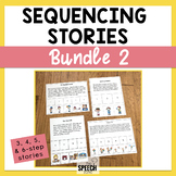 Sequencing Stories Bundle Set 2 - 3, 4 & 5 Step Stories