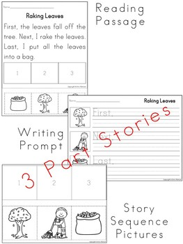 Sequencing Stories ~ Fall Activities