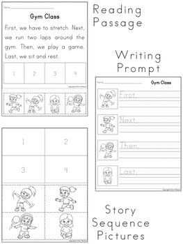 Sequencing Stories ~ First, Next, Then, Last {Set 3}