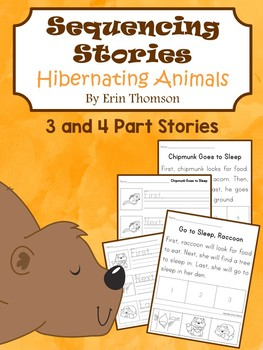 Sequencing Stories ~ Hibernating Animals