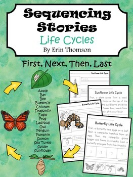 Sequencing Stories ~ Life Cycles