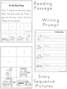 Sequencing Stories ~ First, Next, Then, Last {Set 2}