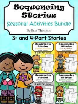 Sequencing Stories ~ Seasonal Activities BUNDLE