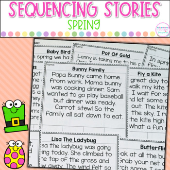 Sequencing Stories- Spring Edition