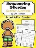 Sequencing Stories ~ Summer Activities