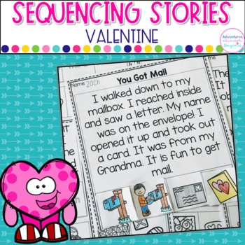 Sequencing Stories- Valentine Themed