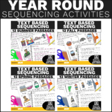 Sequencing Stories with Pictures Activity - Year Long Bundle