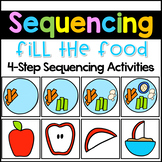 Sequencing Stories with Pictures- Food-Theme Sequencing Picture Cards